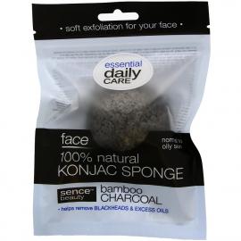 Eponge Konjac au charbon