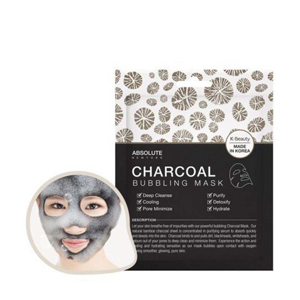 Masque bubbling au charbon Absolute new york