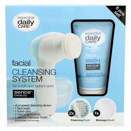 Coffret brosse nettoyante et gel nettoyant pour le visage