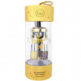 Kit manucure gel semi-permanent - Gold