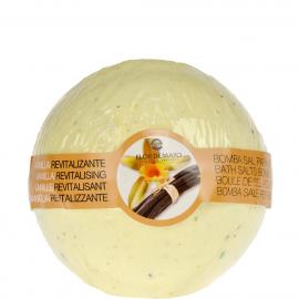 Bombe de bain effervescente – Vanille - Flor de mayo