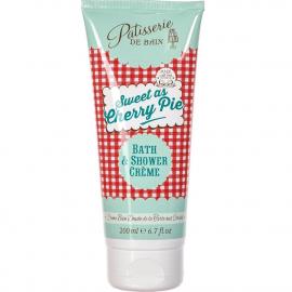 Crème bain douche - Tarte aux cerises - Pâtisserie de bain