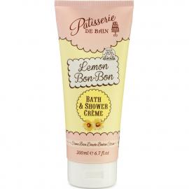 Crème bain douche - Bonbon citron - Pâtisserie de bain