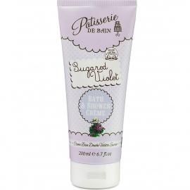 Crème bain douche - Violette sucrée - Pâtisserie de bain