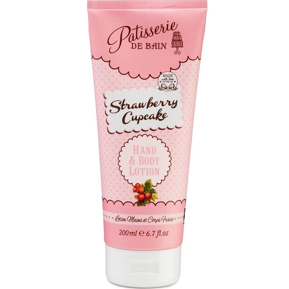 Crème mains et corps - Strawberry Cupcake - Pâtisserie de bain
