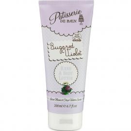 Crème mains et corps - Sugared Violet - Pâtisserie de bain