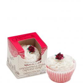 Savon cupcake - Cranberries & Cream