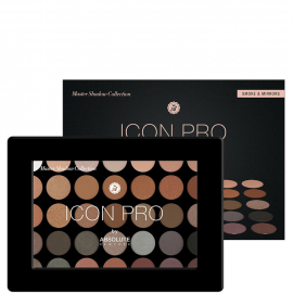Palette 35 fards à paupières Icon pro – AIP02 Smoke &...