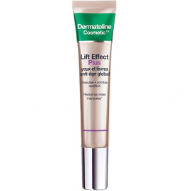 Soin anti-âge global Yeux et lèvres - Lift Effect plus - Dermatoline Cosmetic