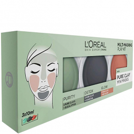 Coffret de 3 masques Pure argile