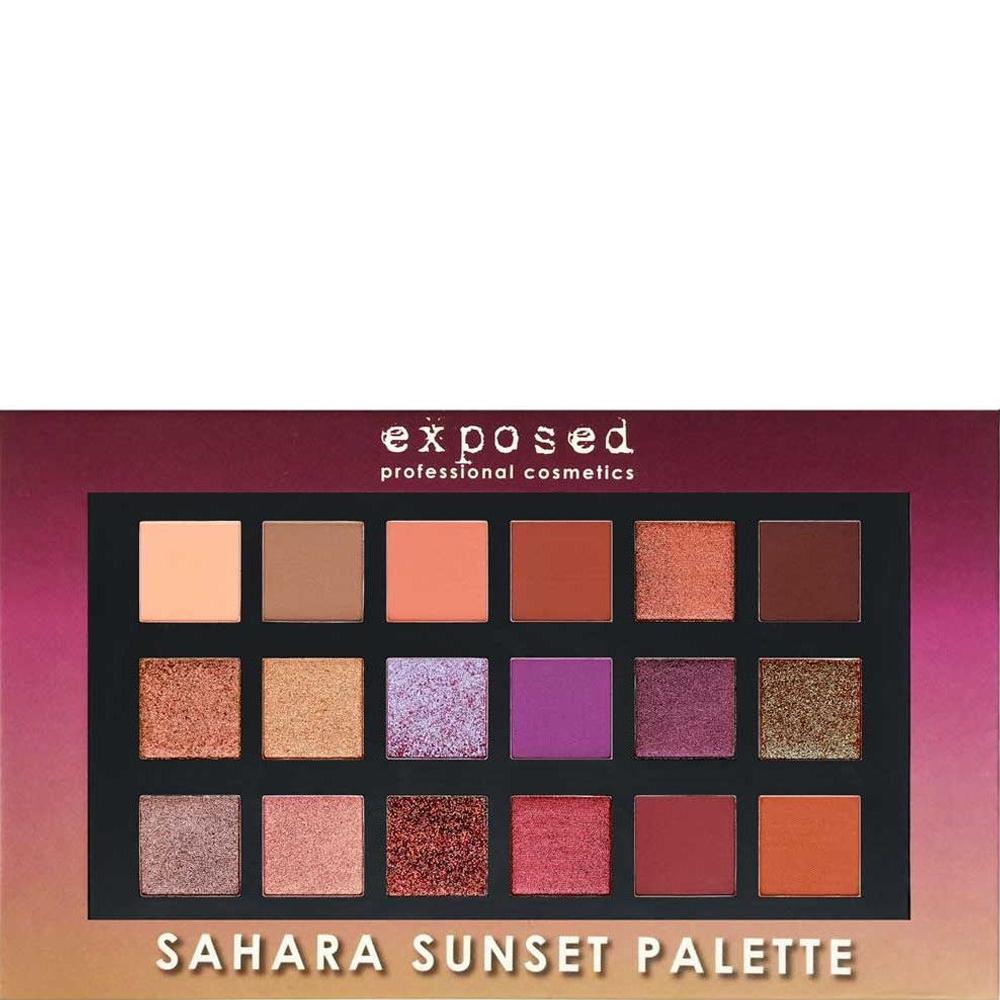 Palette 18 fards à Paupières Sahara Sunset
