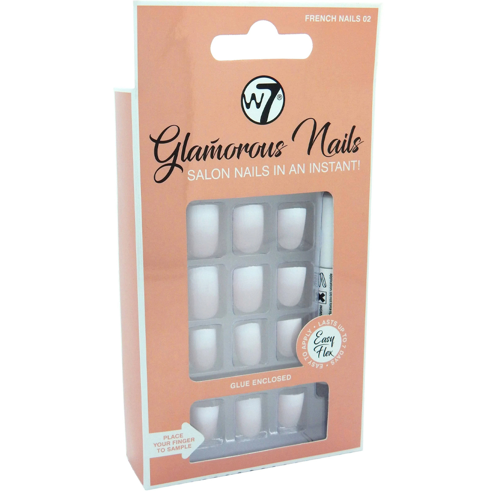Faux-ongles Glamorous nails – French nails 02