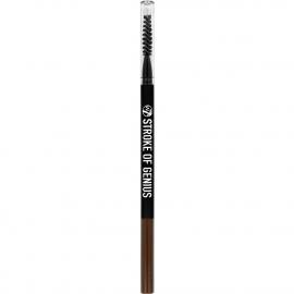 Crayon sourcils avec brosse intégré Stock of genius en teinte brunette