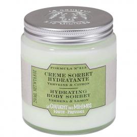 Crème hydratante sorbet Citron & Verveine - Le couvent des minimes