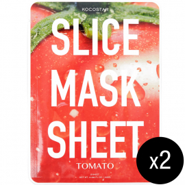 Duo masques éclat Tomato