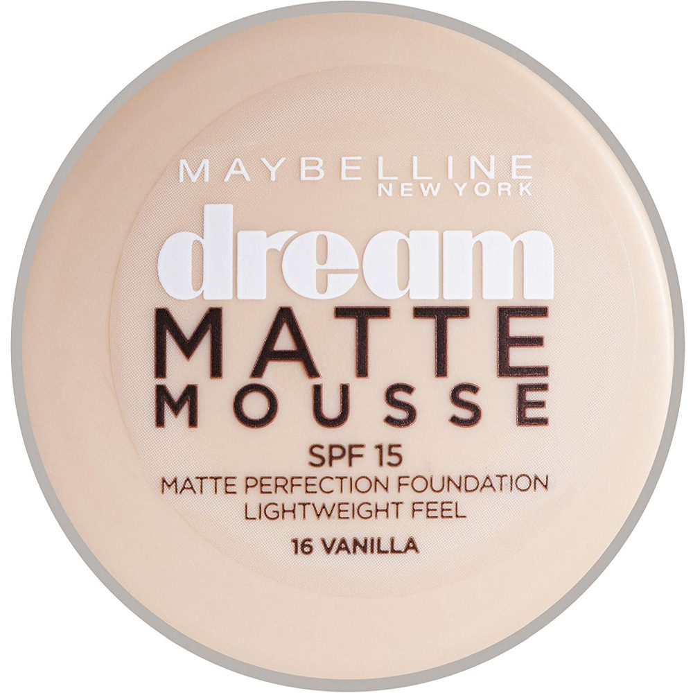 Fond de teint Dream Mat Mousse - 16 Vanilla