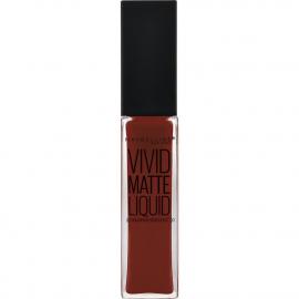 Rouge à lèvres Liquide Vivid Matte - 37 Coffee Buzz