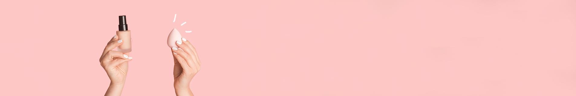 Pinceau et éponge teint pas cher | Accessoires teint | SAGA Cosmetics