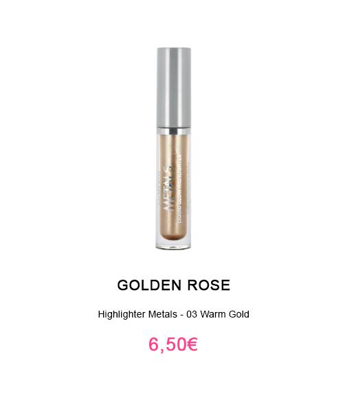 highlighter liquide avec applicateur pas cher Golden Rose