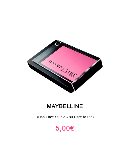 boitier de blush rose dare to pink face studio maybelline