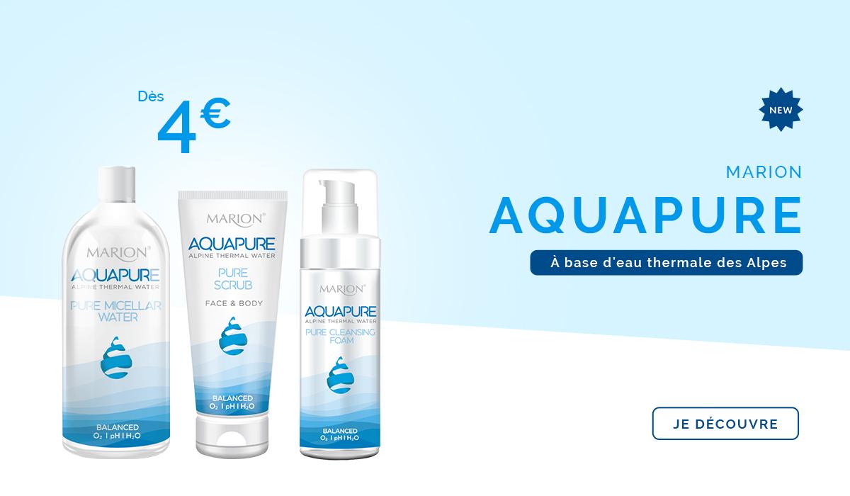 slider mobile nouveautés gamme Aquapure
