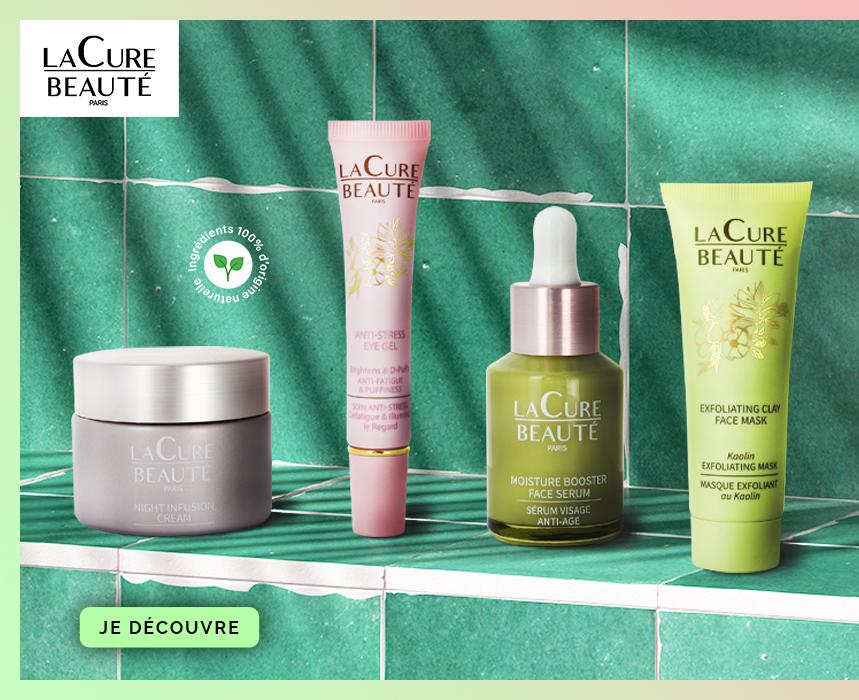 slider home mobile saga cosmetics La Cure Beauté